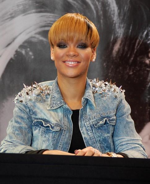 Rihanna Denimjacket